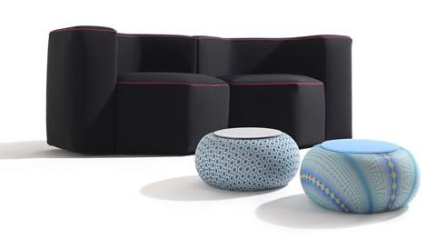 Nuovo progetto THE SENSITIVE® DESIGN: i tessuti innovativi di Sensitive® Fabrics interpretati da creativi designer nello spazio LUCA BOFFI all round design