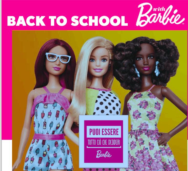Un Back to School tutto rosa in compagnia di Barbie!