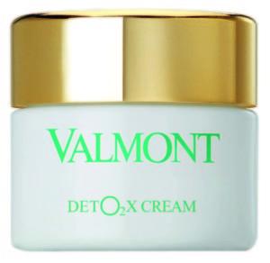 Da Valmont arriva Deto2x Cream, una straordinaria novità che apporta ossigeno alla pelle