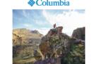 Abbigliamento maschile firmato Columbia per il trekking autunnale