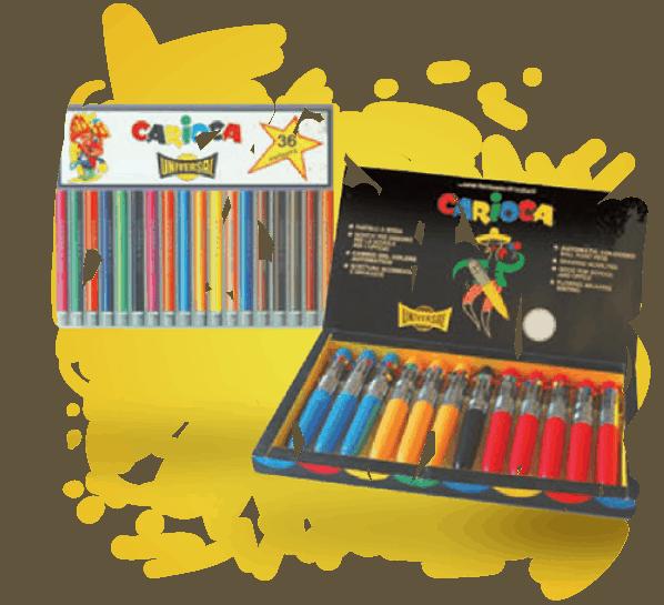 I pennarelli dai mille colori firmati Carioca ti accompagnano durante tutto l'anno scolastico!