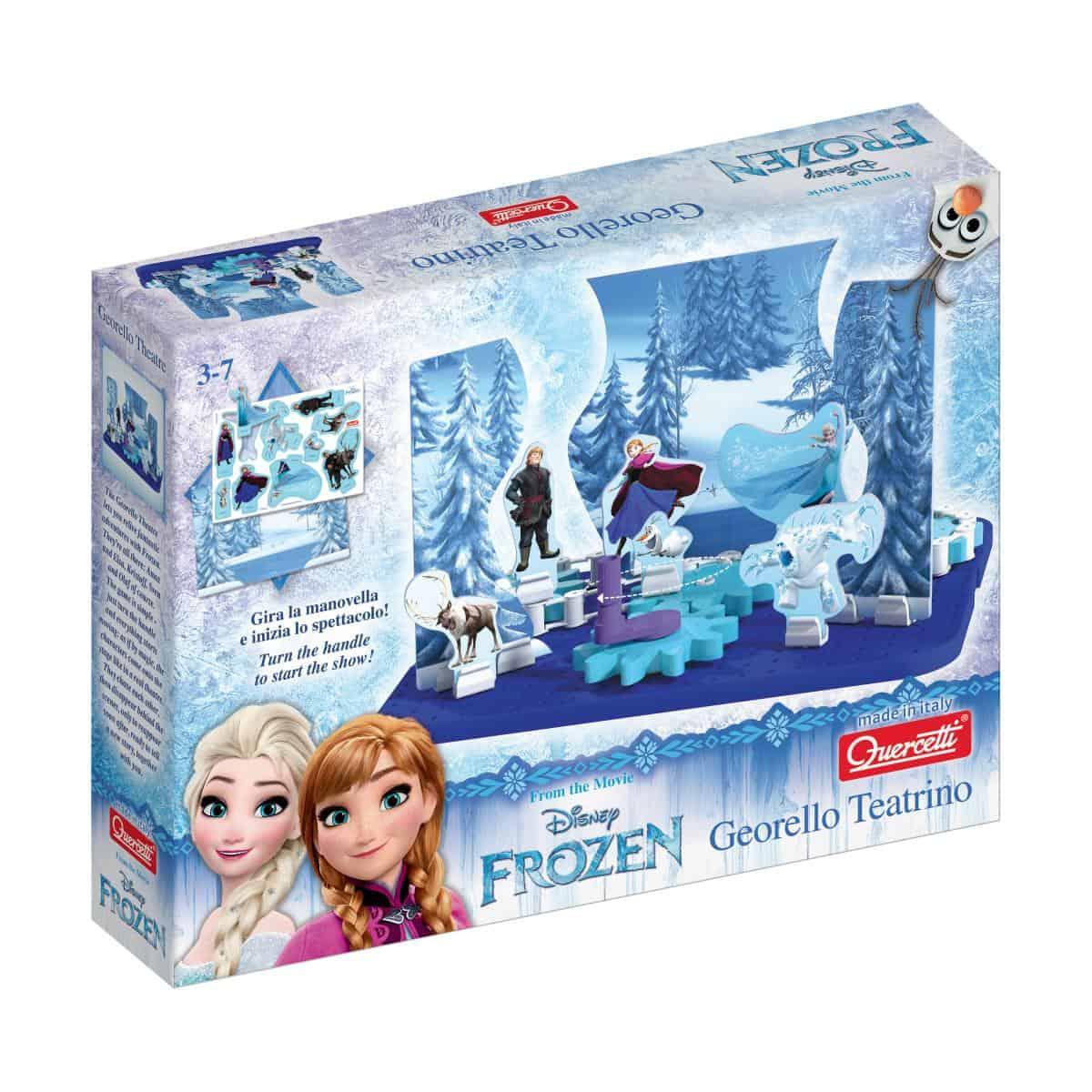 La magia di Frozen per il Natale Quercetti