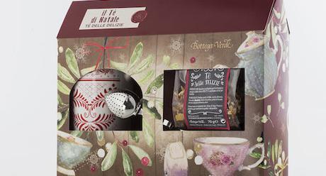 Idea per un regalo di Natale: delizioso tè, tazza decorata ed infusore nell'attraente confezione natalizia di Bottega Verde