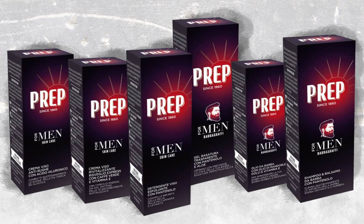 PREP lancia la linea Prep for men
