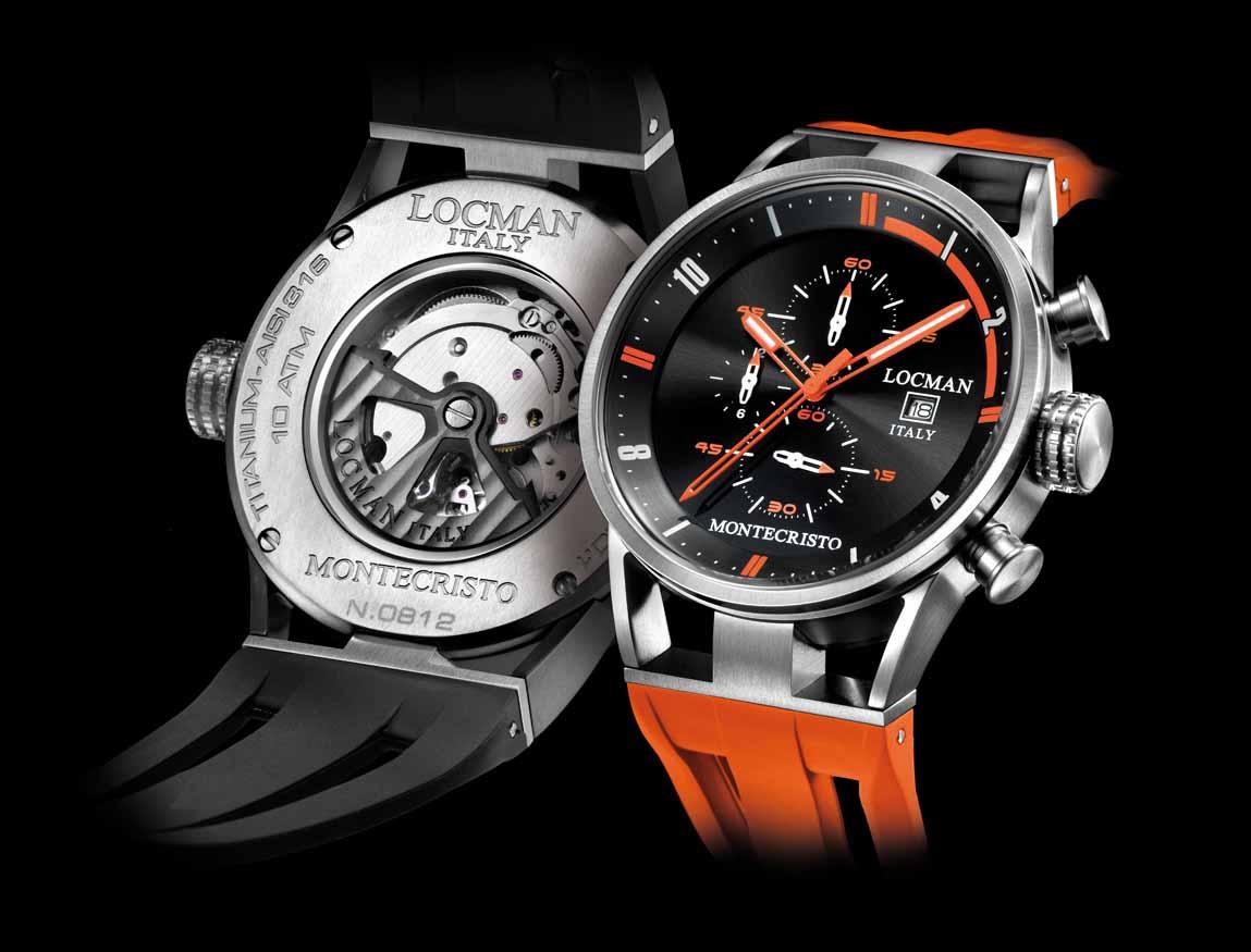 Da Locman il nuovo Montecristo Carbon, un orologio dai materiali innovativi e dal design fluido e leggero