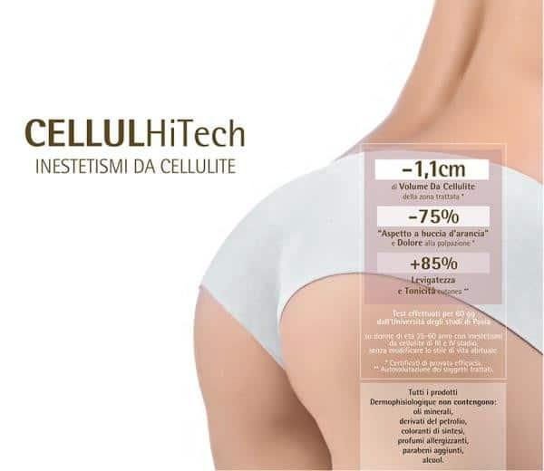 inea CellulHiTech by Dermophisiologique, per una lotta senza quartiere alla cellulite