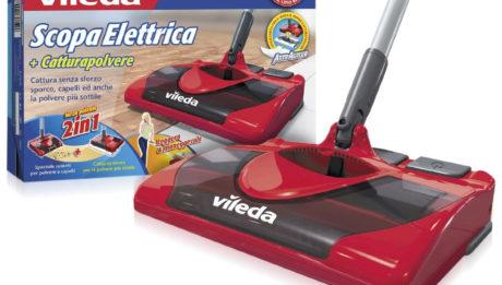 Nuova Vileda Scopa Elettrica ... come pulire la casa senza fatica!