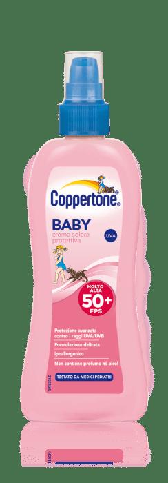 coppertone baby