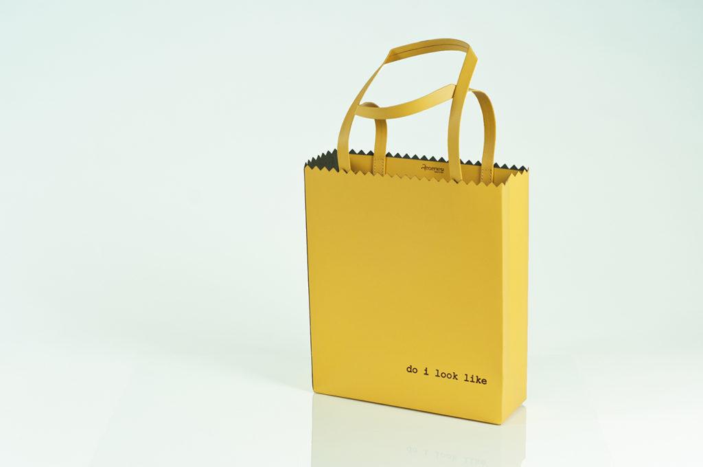 yellow fruit bag