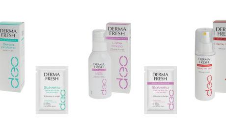 Con Dermafresh Latte deodorante in regalo le pratiche Dermafresh salviettine deodoranti