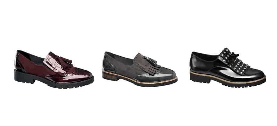 Dettagli fashion per le calzature A/I 17 firmate Deichmann