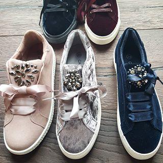 Nuovo Autunnale Stile Un Sneaker Per Deichmann Velvet Chic Easy IDH9eWE2bY
