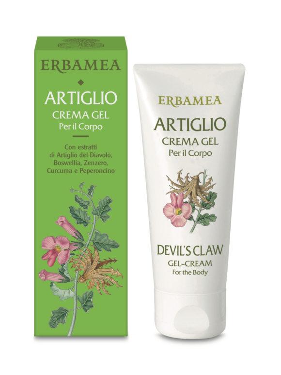 Da Erbamea Artiglio, crema gel per il corpo perfetta per contusioni, strappi e sciatalgie