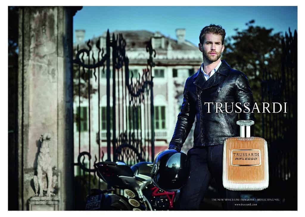 Trussardi Riflesso, la nuova fragranza maschile firmata Trussardi Parfums