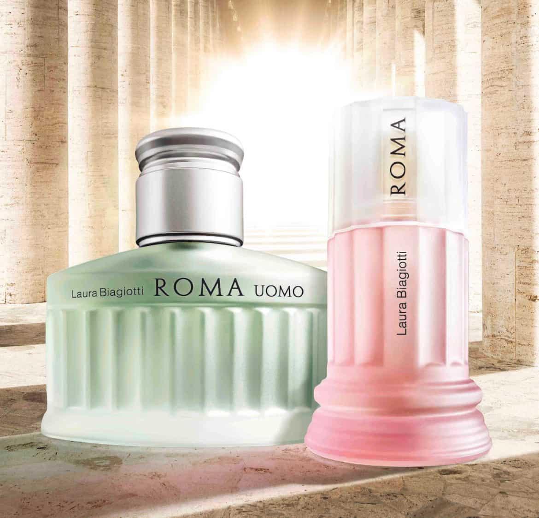 Le nuove fragranze Roma di Laura Biagiotti