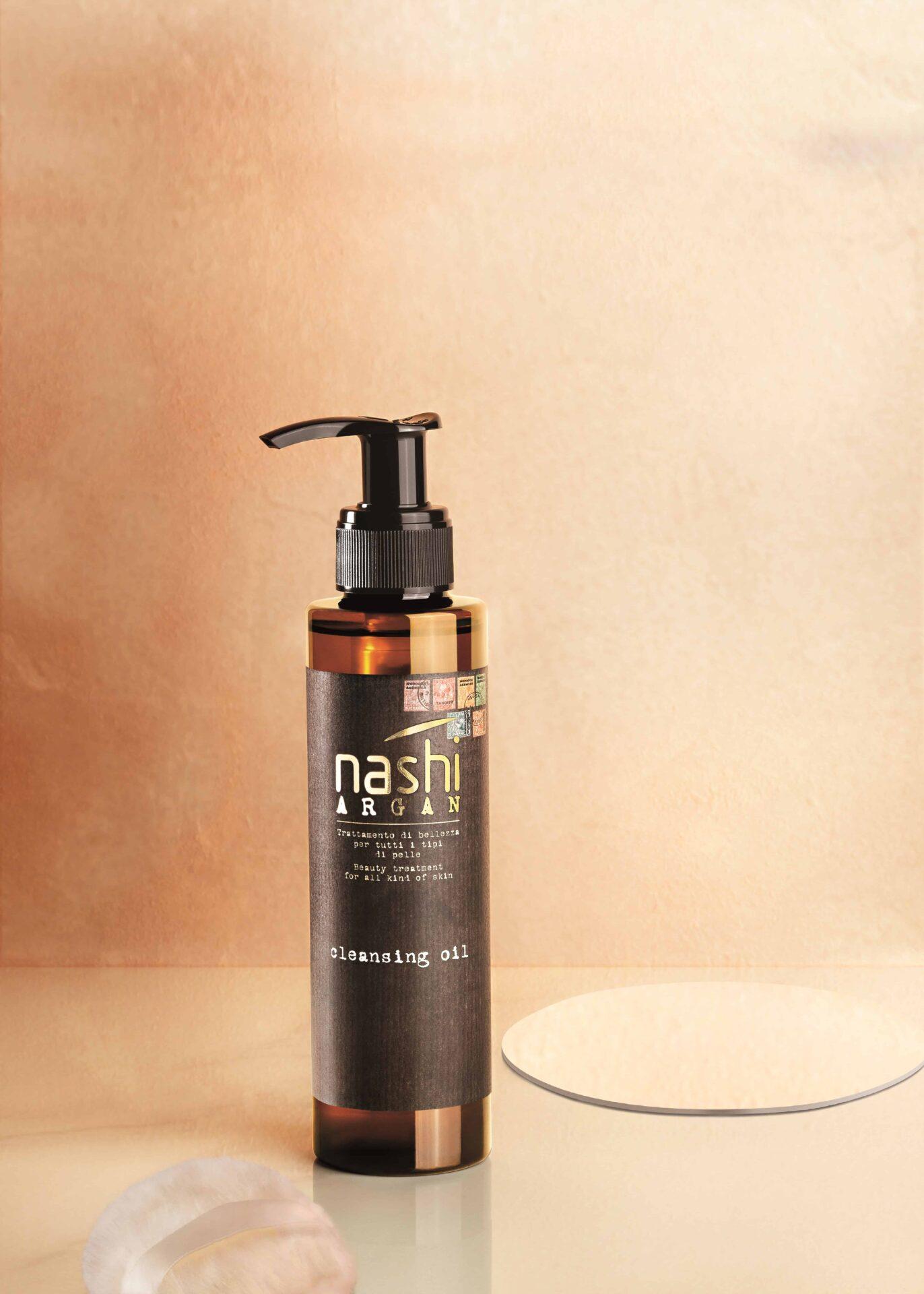 """Nuovo Cleansing Oil di Nashi Argan, per una pelle detersa e """"coccolata"""""""