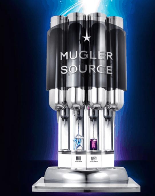 Angel & Alien Neon Collector, i flaconi ricaricabili alla Source Mugler