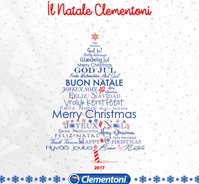 Festeggia il Natale con i giochi firmati Clementoni!