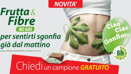Da Ortis Laboratoires Frutta&Fibre No Gas, per dire basta alla stitichezza e alle flatulenze intestinali!