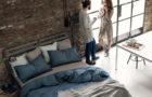Dreamin'101: piumoni e tessili per l'arredo della camera da letto all'insegna del lusso