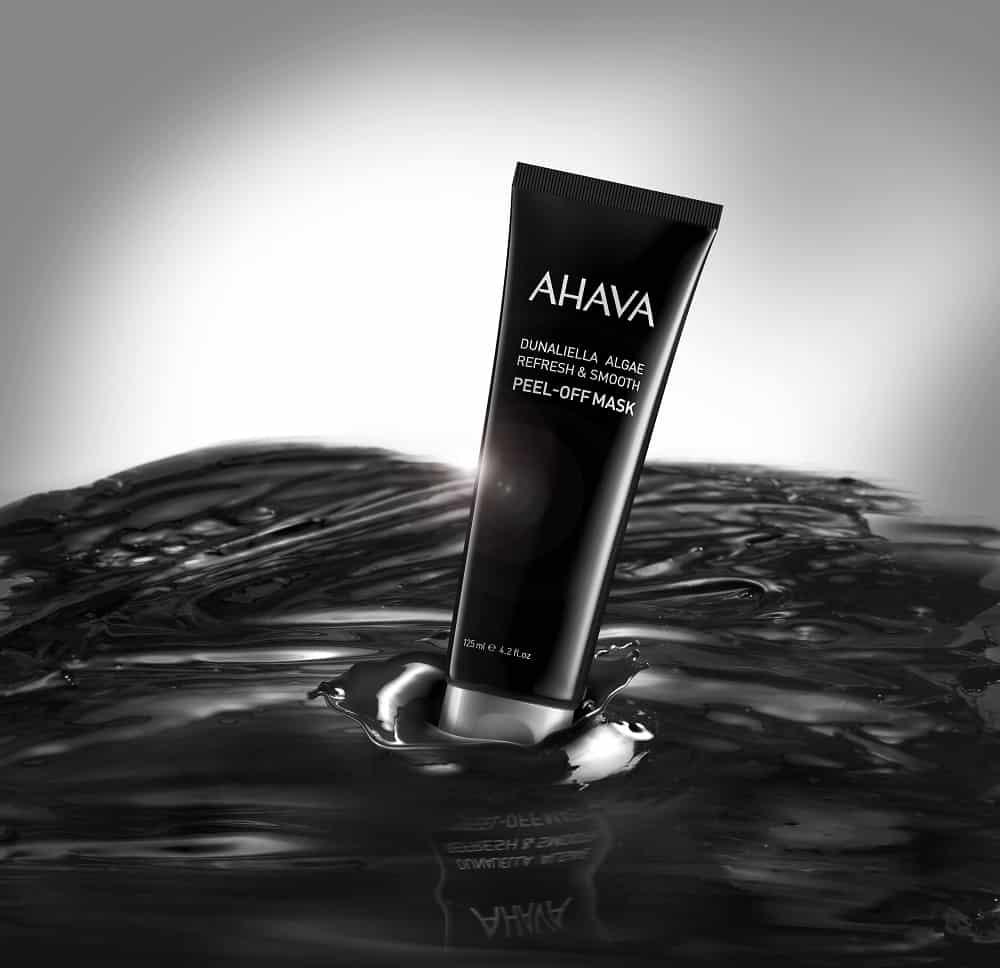 AHAVA presenta la Black Peel of Mask all'alga Dunaliella
