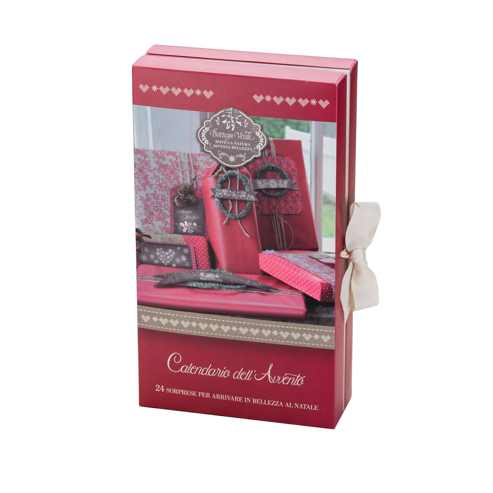 Calendario dell'Avvento Bottega Verde: ogni giorno in regalo un piccolo cosmetico!