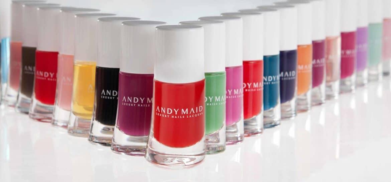 Andy Maid, la linea smalto trendy che protegge le unghie