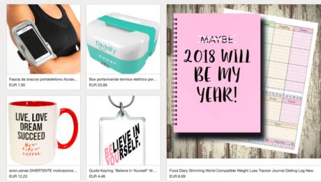 Su eBay tante idee di shopping per un 2018 aperto al cambiamento!