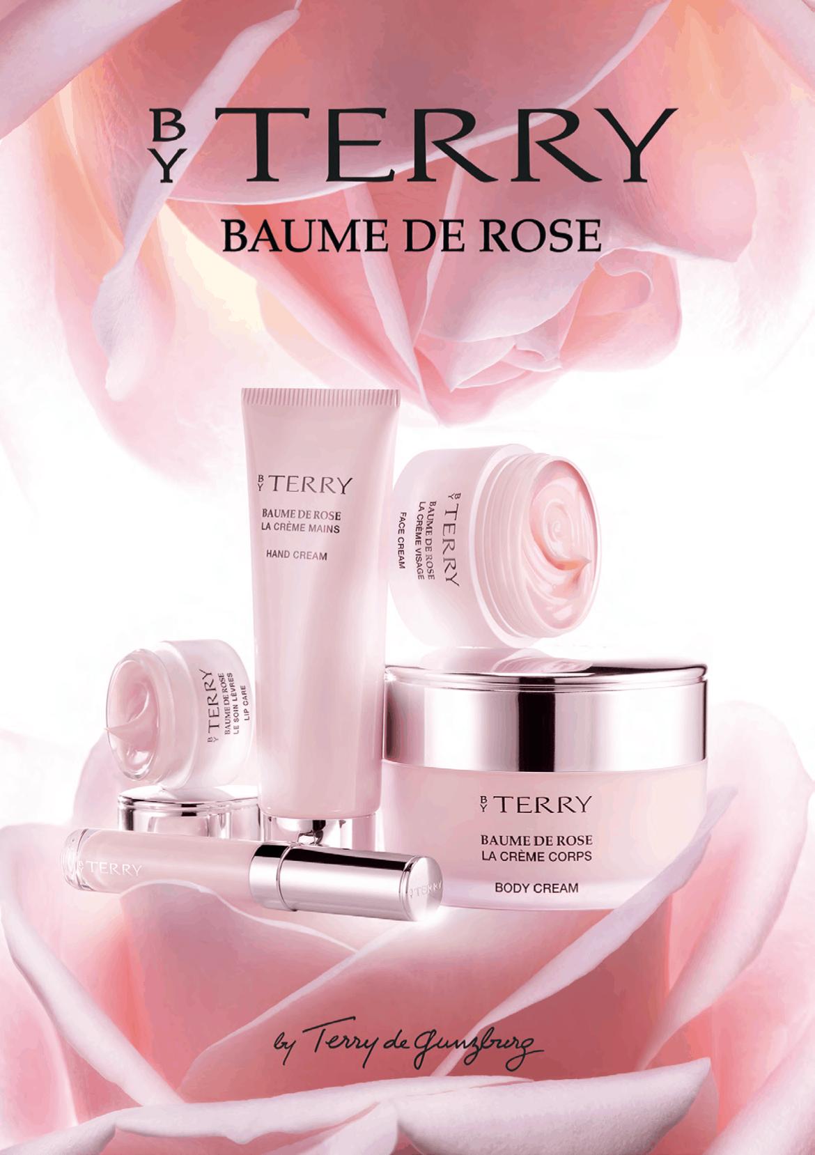 Linea Cosmetica Baume de Rose by Terry, ispirata alla delicatezza della rosa