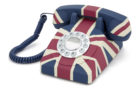 GPO Union Flag Phone  è un vero inno alla Royal Family inglese!