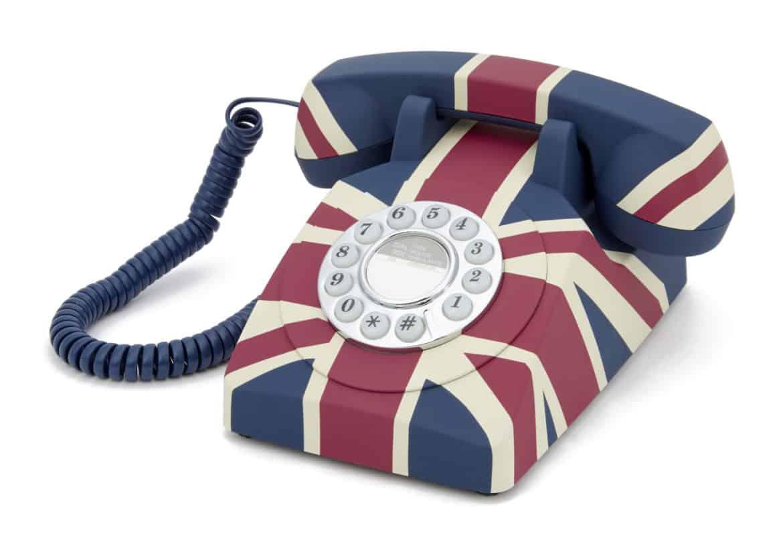 GPO Union Flag Phone è un vero inno alla Royal Family inglese!