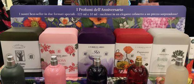 L'Erbolario festeggia i 40 anni con i Profumi dell'Anniversario