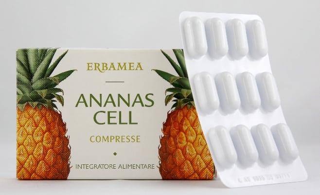 Erbamea Linea Ananas Cell, per una lotta senza quartiere alla cellulite