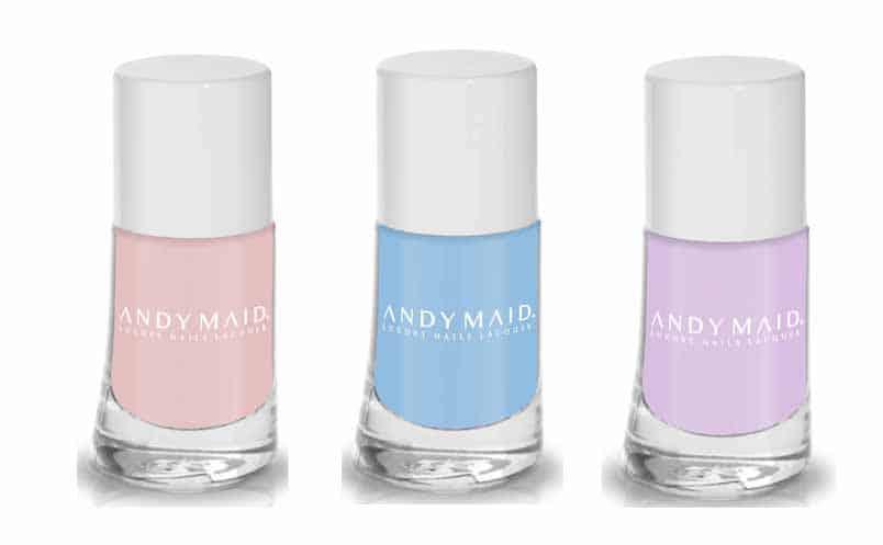 Da Andy Maid per la bella stagione smalti dai delicati colori pastello