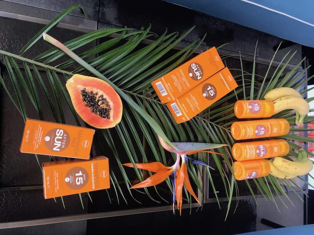 Da Syncroline Sunwards e Tanwards, solari con packaging intelligente Sistema UV Alert