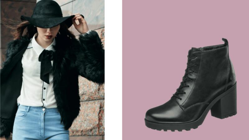 Fibbie, borchie e perline per le originali calzature Deichmann per l'A/I 2018/19