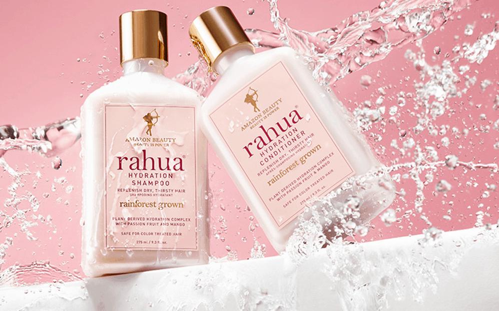 Su The Beautyaholic's Shop la nuova linea organica Hydration di Rahua per capelli secchi