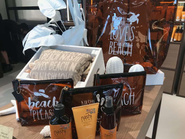 Nashi Argan Sun, i prodotti per proteggere i capelli dal sole