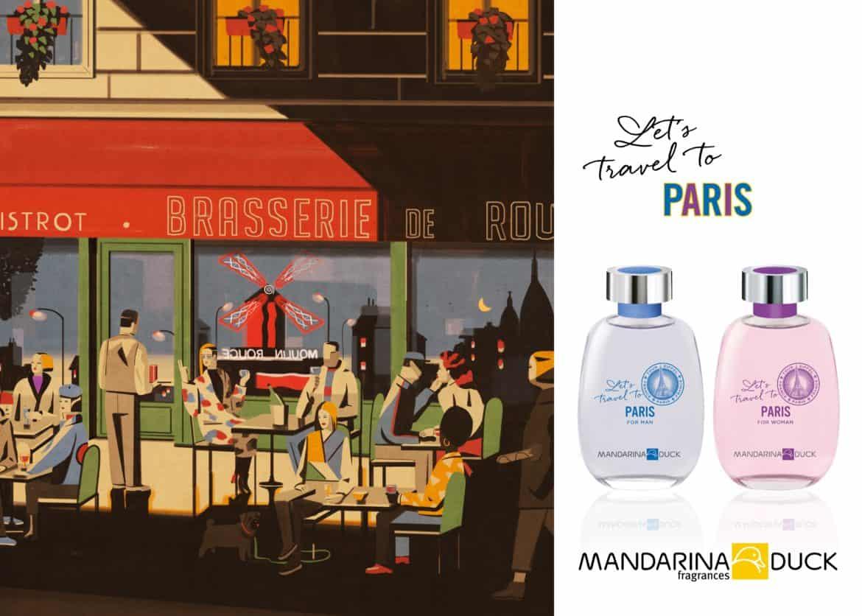 Let's Travel to Paris: sotto la Tour Eiffel con il nuovo profumo di Mandarina Duck