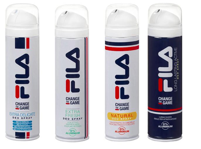 Con i deodoranti Fila Change the Game l'estate sarà ... profumata!