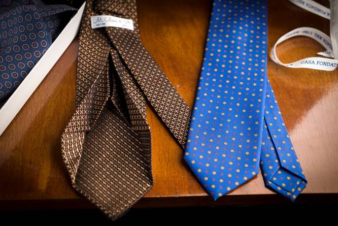 Maison Cilento 1780: le raffinate cravatte sartoriali nate da un'antica tradizione napoletana