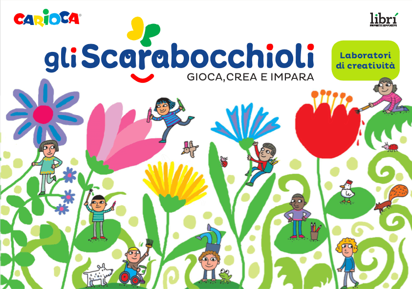 CARIOCA lancia il progetto «Gli Scarabocchioli» in collaborazione con Librì