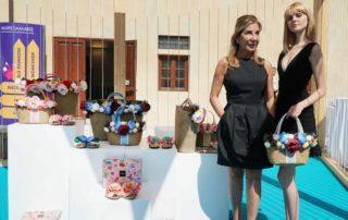 Collezione SS 19 di Emanuela Biffoli : borse da spiaggia ed infradito...da amare!