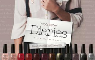 Smalti DIARIES di Faby, la nuova collezione A/I 2018-2019