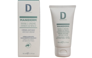 Maniderm by Dermophisiologique, efficace crema Anti-age Mani e Unghie