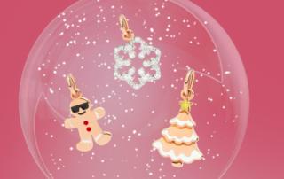 Tre nuovi ciondoli preziosi per il Natale di DoDo