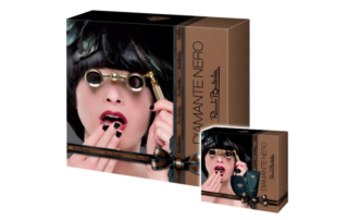 Renato Balestra rinnova il packaging di Diamante Nero Homme e Diamante Nero Femme