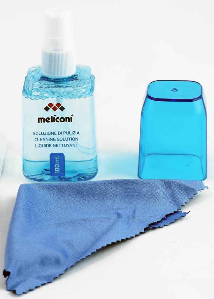 Meliconi BLUE 100, lo spray per device sempre puliti!