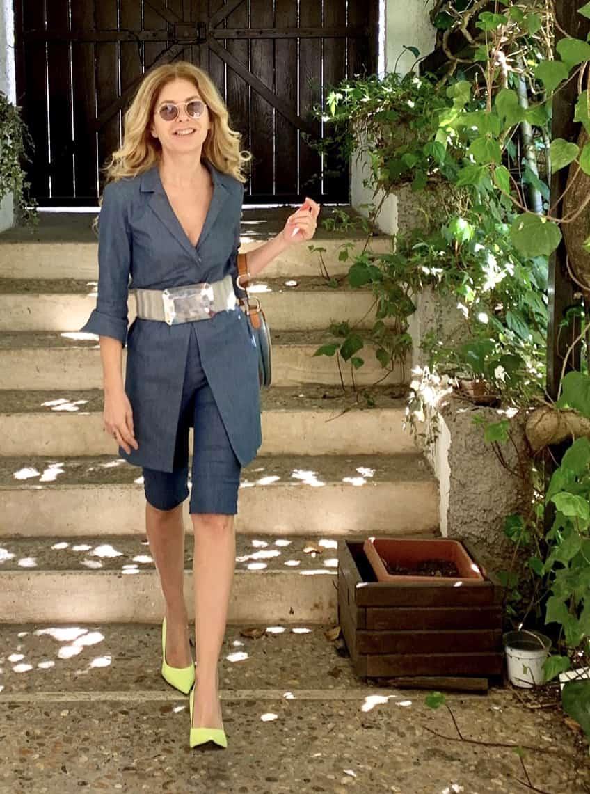 Pantaloncini da ciclista, il nuovo trend della moda primaverile