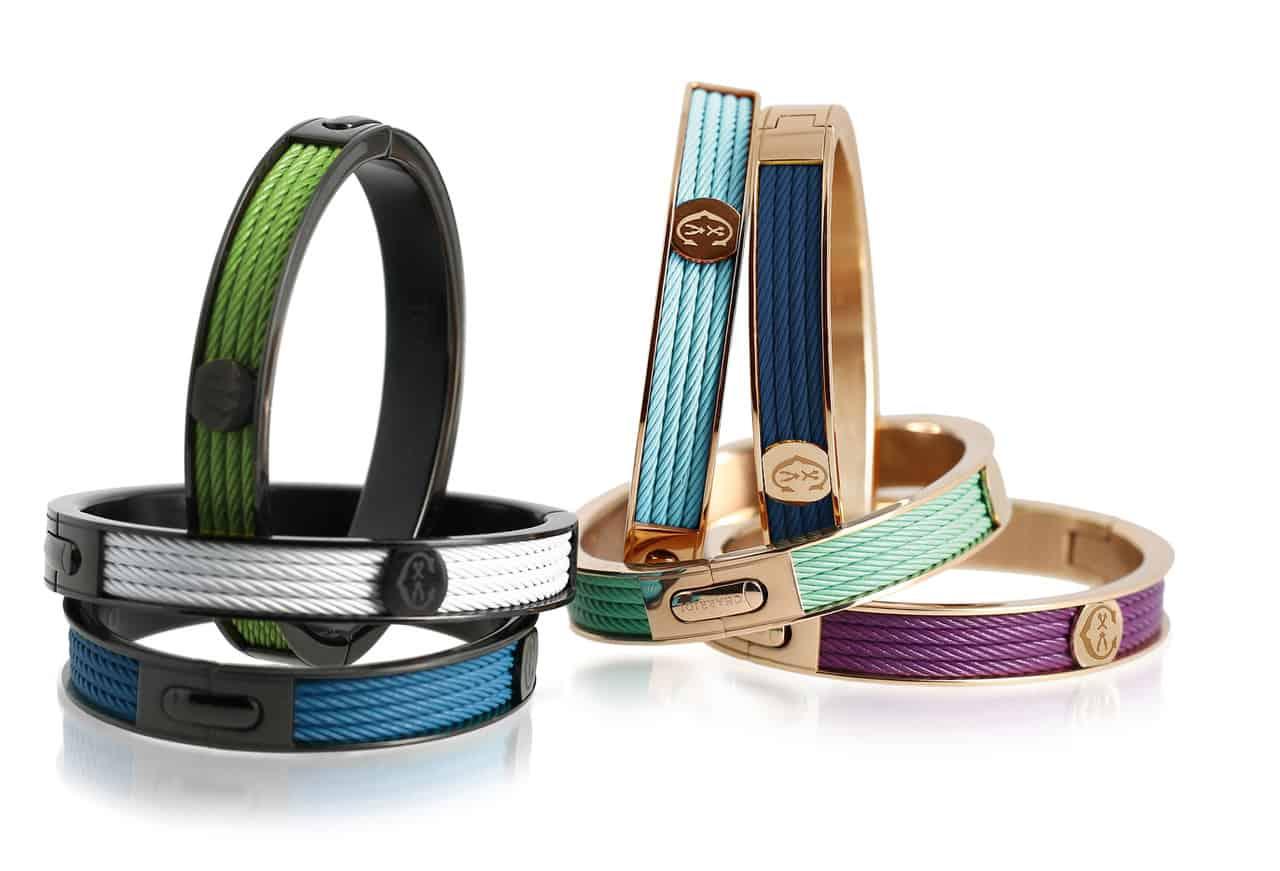 CHARRIOL: Collezione Forever, bangle colorati e glamour
